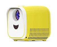 Детский проектор L1 | Детский мини проектор кубик