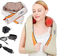 Универсальный массажер Massager of Neck Kneading | Электрический массажер для шеи, плеч, спины и поясницы