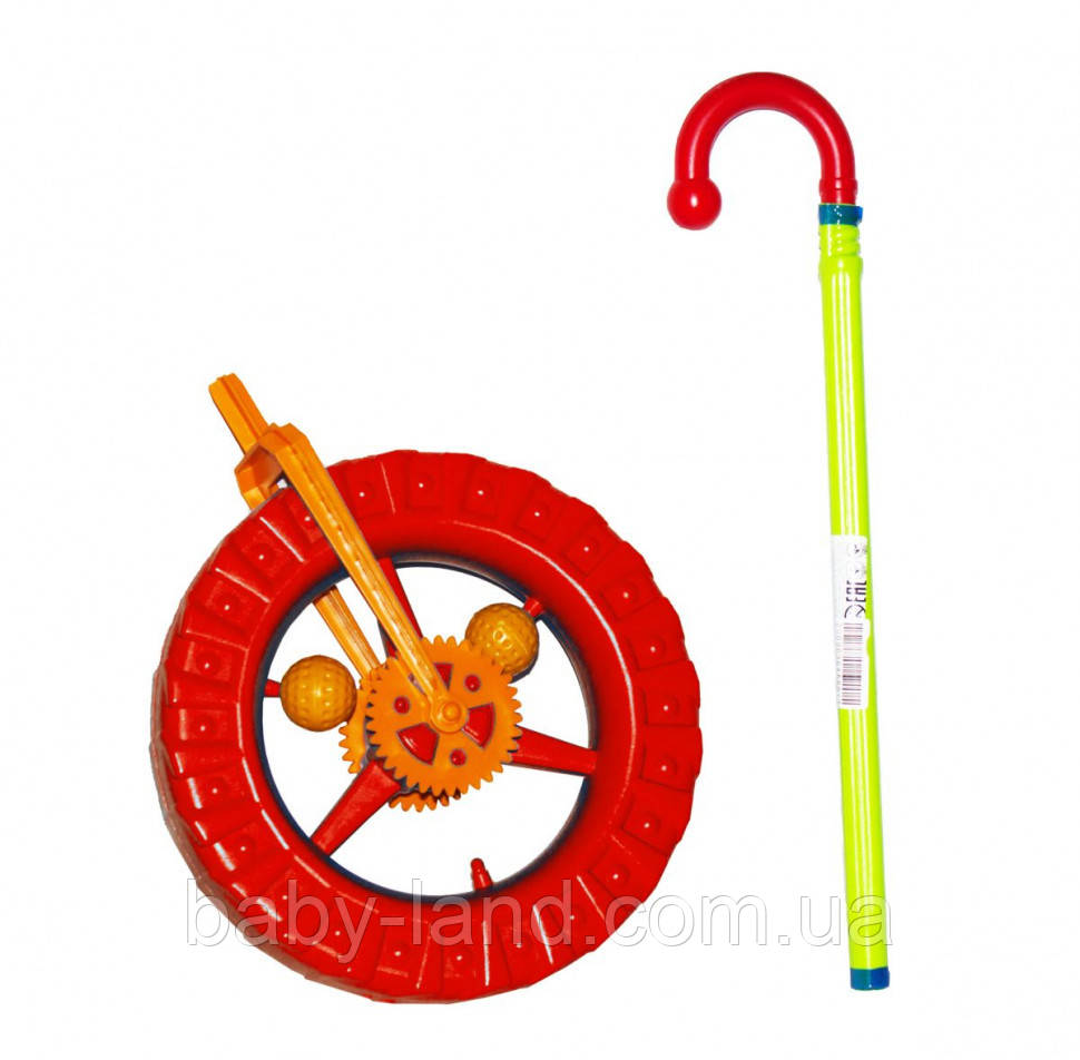 Детская каталка колесо 1-014 (Red)