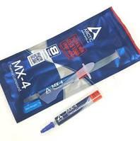 15-00-072N. Термопаста Arctic MX-4, теплопроводность 8.5 Вт/мК, шприц 4г, new packaging