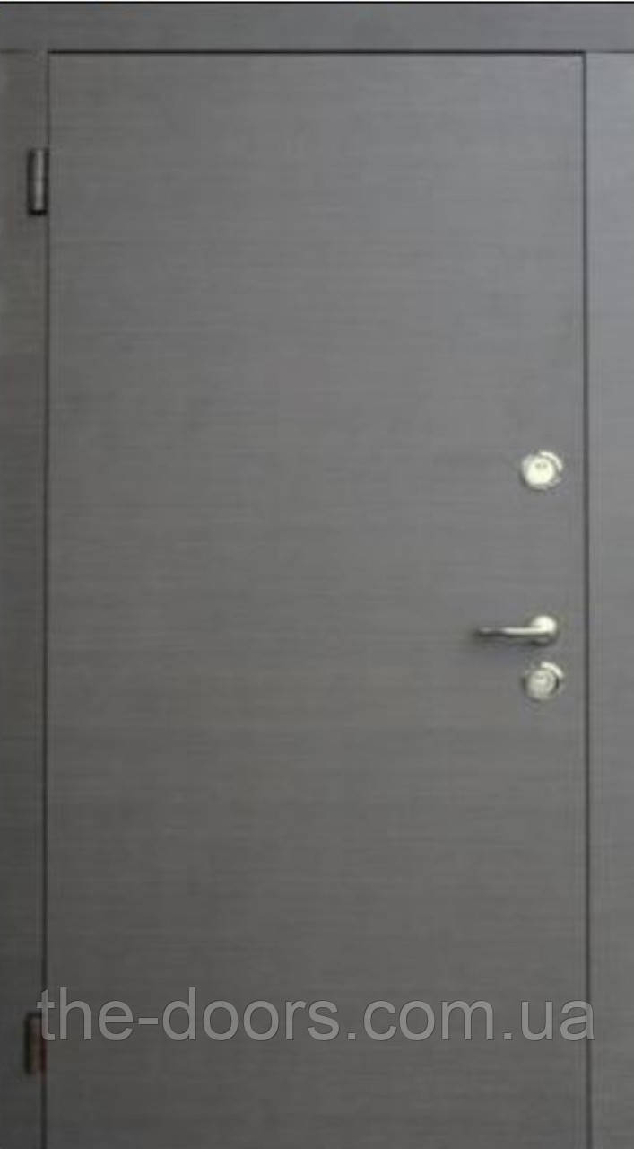 Двері вхідні Форт модель Дует двоколір економ