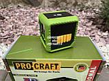 Лазерный уровень Procraft LE-2D зелёный луч, фото 3