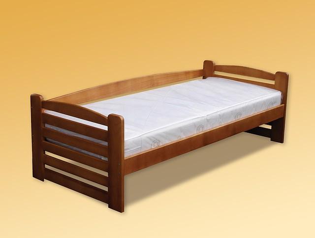 Ліжко дитяче з натурального дерева Карлсон Дрімка