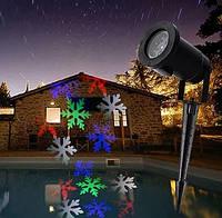 Уличный лазерный проектор с рисунками Festival Projection Lamp 12 pictures star shower | Новогодний проектор