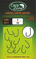 Короповий гачок Вайд Гейп Wide Gape Hook №4, фото 2