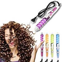 Плойка для волос Nova NHC-8558 спираль   Плойка для локонов   Спиральная плойка для волос