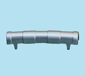 Передний диффузор Q001 (серый пластик) Nissan Qashqai 2007-2010 гг. / Тюнинг переднего бампера Ниссан Кашкай