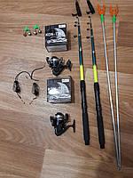 Рыболовный набор, подарок мужу рыбаку, универсальный набор для рыбалки, Наборы рыболова, спиннинг в сборе!