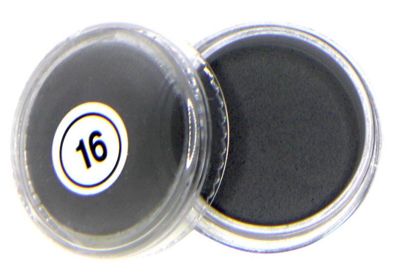 Акриловая пудра My Nail №16, 2 г (черная)