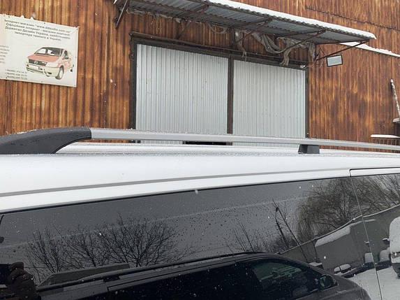 Volkswagen T5 Рейлинги Серый металлик на длинную базу / Рейлинги Фольксваген Т5 (Транспортер), фото 2