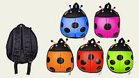Детский рюкзак Божья коровка, рюкзак для садика и прогулок, разные цвета, 8401