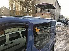 Opel Vivaro Рейлинги Хром на длинную базу / Рейлинги Опель Виваро, фото 2
