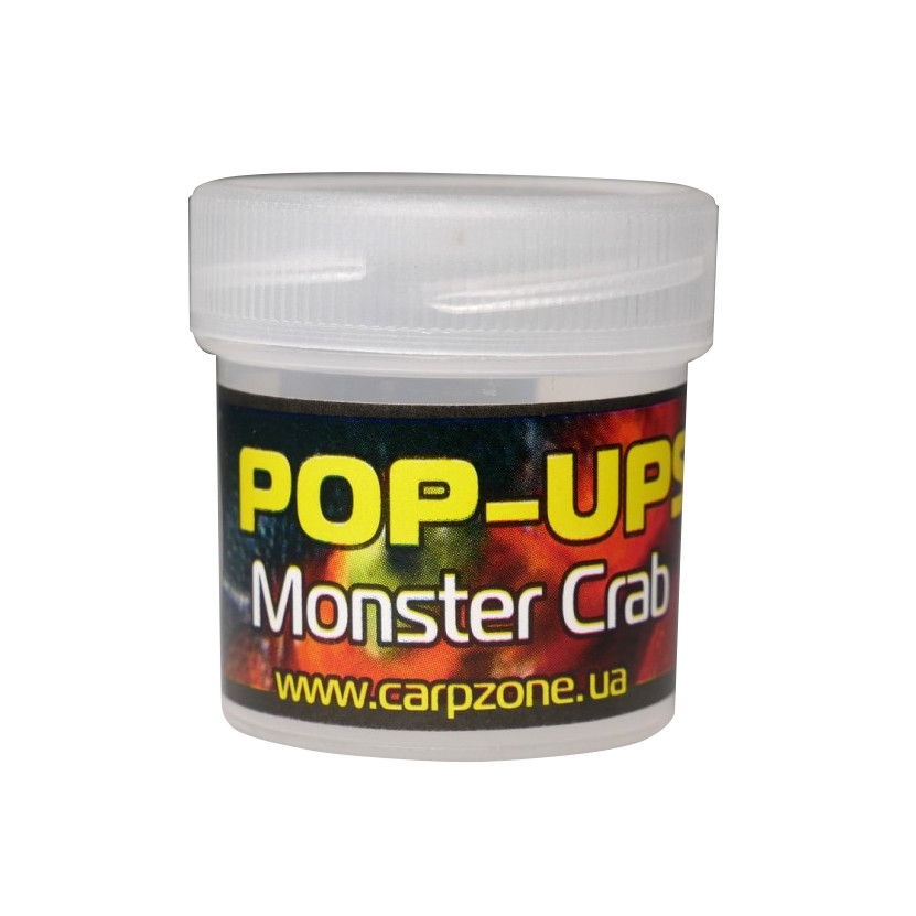 Поп Ап Pop-Ups Fluro Monster Crab (Монстр Краб) 10mm/15pc