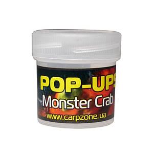 Поп Ап Pop-Ups Fluro Monster Crab (Монстр Краб) 10mm/15pc, фото 2