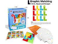 """Развивающая настольная игра головоломка """"Graphic Matching"""" 2 уровень GT291090"""