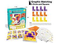 """Развивающая настольная игра головоломка """"Graphic Matching"""" 1 уровень GT291089"""
