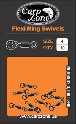 Вертлюг с кольцом Flexi Ring Swivels №4, фото 2