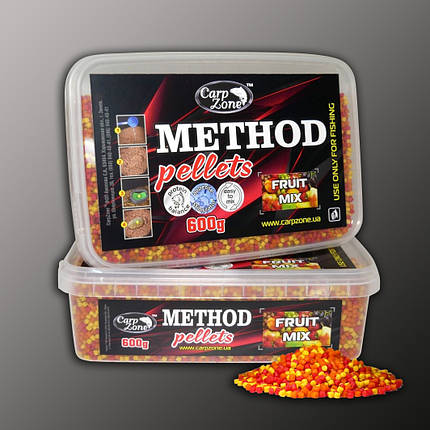 Метод пеллетс Method Pellets Fruit Mix (Фруктовый микс) 600g 3mm, фото 2