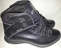 Ботинки мужские кожаные зимние ECCO 38