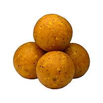 Бойли насадкові порошать Boilies Method & Feeder series Soluble Honey (Мед) 10mm/60pc, фото 3