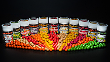 Бойли насадкові порошать Boilies Method & Feeder series Soluble Сranberry (Журавлина) 10mm/15pc, фото 3