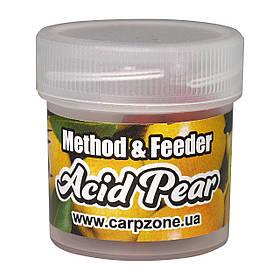 Бойли насадкові порошать Boilies Method & Feeder series Soluble Acid Pear (Кисла Груша) 10mm/15pc
