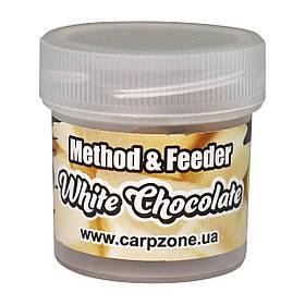 Бойли насадкові варені Boilies Method & Feeder series Instant White Chocolate (Білий Шоколад) 10mm/15pc