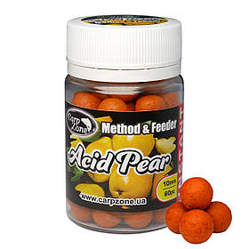 Бойли насадкові варені Boilies Method & Feeder series Instant Acid Pear (Кисла Груша) 10mm/60pc