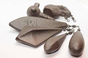 Карповый груз Трилоб боковой 100 гр., фото 2