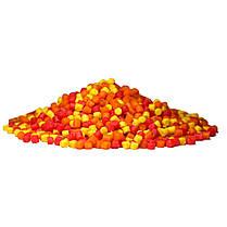 Набор Method Pellets Box Fruit Mix (Фруктовый микс) 3mm/1kg + Amino Booster 100ml + Pop-Ups 10mm/15pc, фото 3