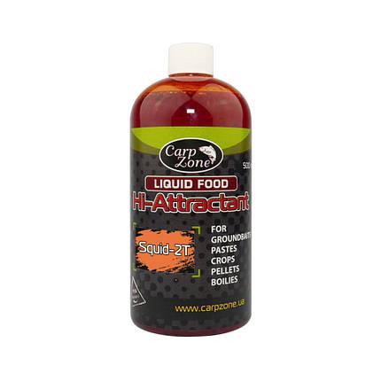 Ликвид Аттрактант Liquid food Hi-Attractant Sport-Series Squid-2T (Сквид-Шелковица), фото 2