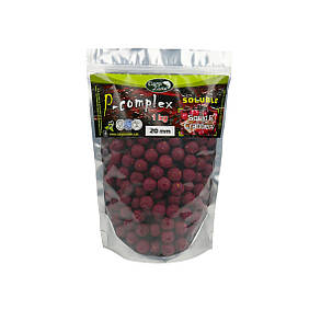 Бойли порошать Преміум класу Boilies P-Complex Soluble Squid & Cranberry (Кальмар і Журавлина) 20mm 1kg, фото 2