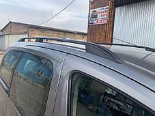 Рейлинги Skyport (черные) Peugeot Partner Tepee 2008-2018 гг. / Рейлинги Пежо Партнер Типи, фото 2