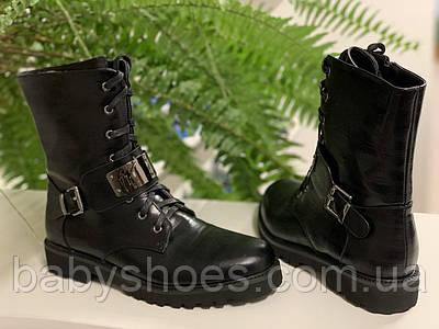 Демисезонные ботинки для девочки BI&KI, р.33-38,  ДД-212