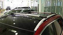 Mitsubishi Outlander XL Перемычки багажник на рейлинги под ключ Серый / Багажник Митсубиси Аутлендер, фото 2