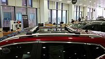 Mitsubishi Outlander XL Перемычки багажник на рейлинги под ключ Серый / Багажник Митсубиси Аутлендер, фото 3