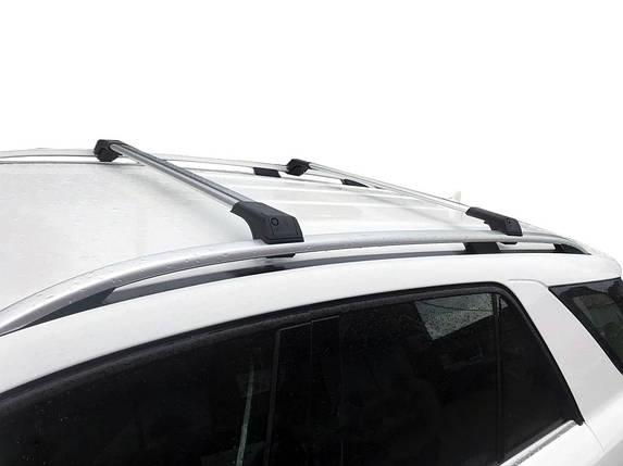 Fiat Fiorino Перемычки на рейлинги без ключа Серый / Багажник Фиат Кубо, фото 2