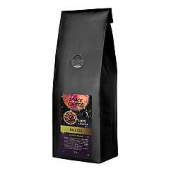 Кава свіжообсмажена зерновий Space Coffee Brazil 100% арабіка 250 грам