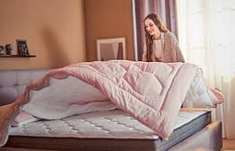 Двойное одеяло Желанный сон 200x200 персиковый