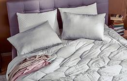 Двойное одеяло Желанный сон 140x200 серый