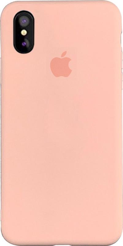 "Чехол Silicone case (A) (с закрытым низом) для Apple iPhone XS Max (6.5"")"