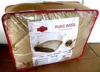 "Одеяло Евро размера из овечьей шерсти ""ТЕП"" Pure Wool"