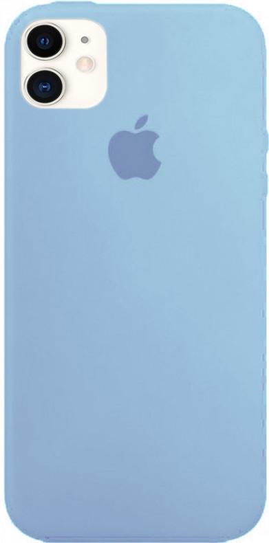 "Чехол Silicone case (A) (с закрытым низом) для Apple iPhone 11 (6.1"")"
