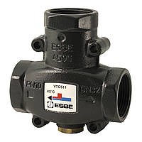 Трехходовой смесительный клапан ESBE VTC511 55°C  DN25 Швеция