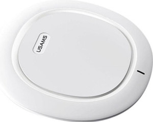 Беспроводное зарядное устройство USAMS Sedo Series Charging Pad White (US-CD29)