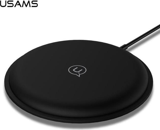 Беспроводное зарядное устройство USAMS Zodi Series Charging Pad Black (US-CD30)