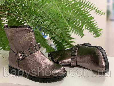 Шикарные ботинки для девочки Waldem, Турция р.35,36 ДД-102