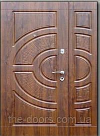Двери полуторныеФорт-М Трио модель Греция