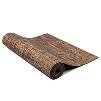 Коврик для йоги и фитнеса Jute 5мм brown