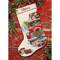 70-08986 Набор для вышивания крестом «Santa's Truck • Грузовик Санты» DIMENSIONS